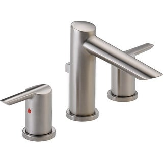 Delta 3561-MPU-DST  Compel Widespread Bathroom Faucet with Pop-Up Drain Assembly