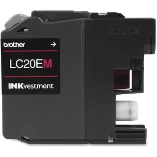 Brother LC20EM Brother LC-20EM Ink Cartridge - Magenta - Inkjet - Super High Yield - 1200 Page - 1 Pack - OEM