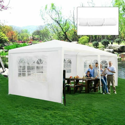 Costway Outdoor 10'x20' Canopy Tent Heavy Duty Wedding Party Sidewalls - See Details