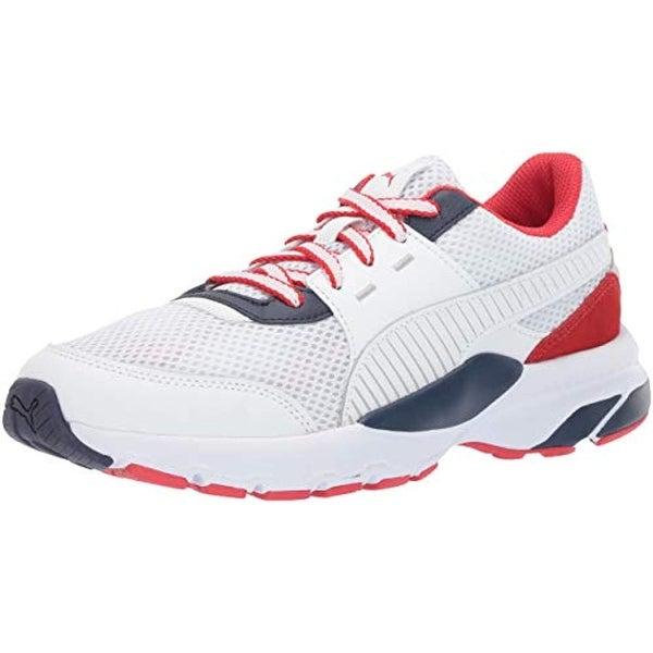 PUMA Men's Future Runner Sneaker, White Peacoat h, 7.5 M US