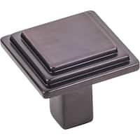 Elements 351 Calloway 1-1/8 Inch Square Cabinet Knob