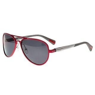 Breed Dorado Men's Titanium Sunglasses - 100% UVA/UVB Prorection - Polarized Lens - Multi
