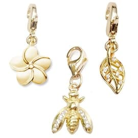 Julieta Jewelry Bee, Flower, Leaf 14k Gold Over Sterling Silver Clip-On Charm Set https://ak1.ostkcdn.com/images/products/is/images/direct/631d992c6eeb0cc2d0dabd49818412c680b78ca0/Julieta-Jewelry-Bee%2C-Flower%2C-Leaf-14k-Gold-Over-Sterling-Silver-Clip-On-Charm-Set.jpg?impolicy=medium
