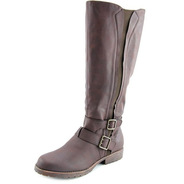 Kenneth Cole Reaction Jenny Stride Women Round Toe Synthetic Knee High Boot