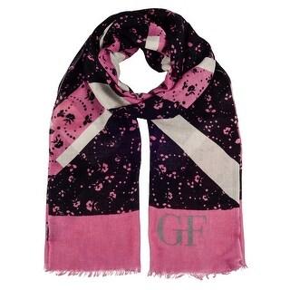 Gianfranco Ferre SCR11183/1 Pink/Black Scarf