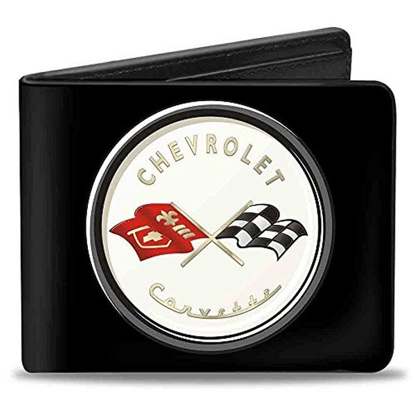 Buckle-Down Bifold Wallet Corvette