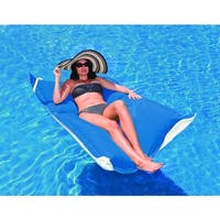 Blue Durable Nylon Mesh Handy Tote For Unsinkable Pool