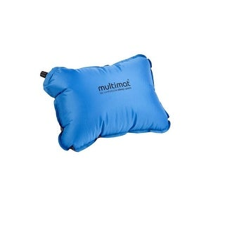 Multimat Camper Pillow Blue And Charcoal - 60MM20BL-GY