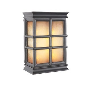 """Craftmade ICH1505 10"""" x 7"""" Rectangle LED Window Pane Door Chime 2 Note Tone"""
