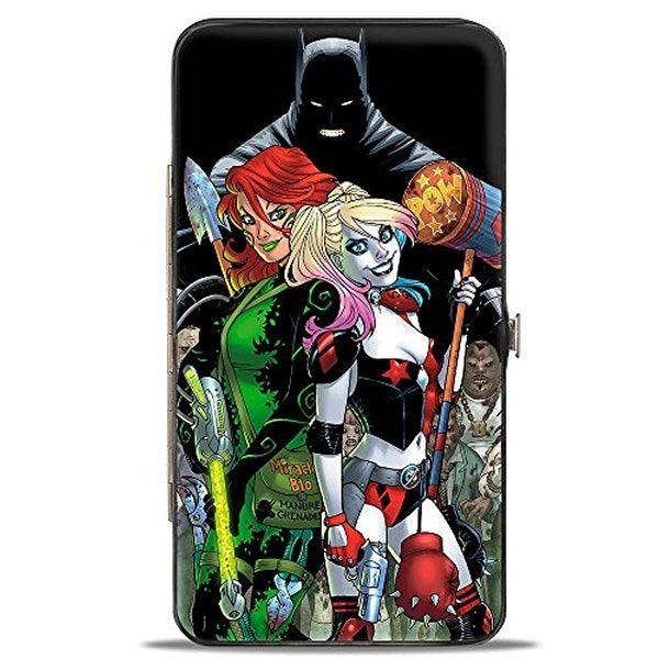Buckle-Down Hinge Wallet - Harley Quinn Poison Ivy