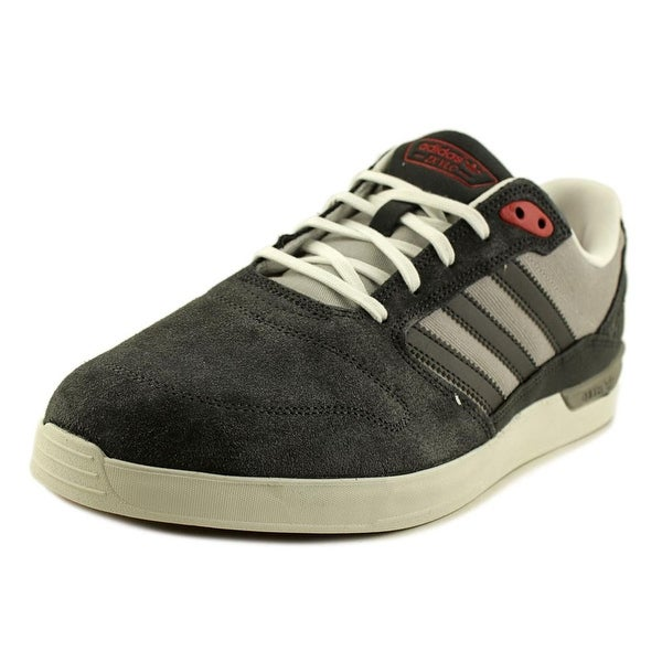 Adidas Zx Vulc Men Round Toe Suede Gray Sneakers