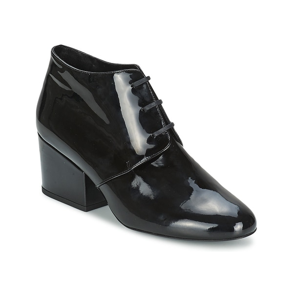 Robert Clergerie NEW Black Women's Shoes 9 M Patent Leather Boot
