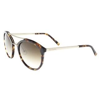 Juicy Couture - Juicy 578/S 86 Dark Havana Oval Sunglasses - 54-23-140