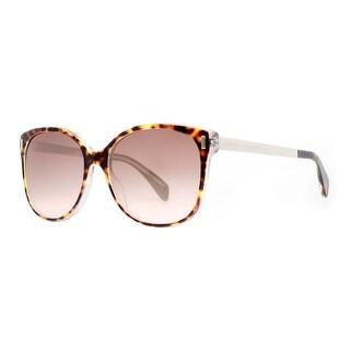 MARC BY MARC JACOBS Butterfly MMJ 464/S Women's A50 HA Havana Brown Brown Gradient Sunglasses - 58mm-17mm-135mm