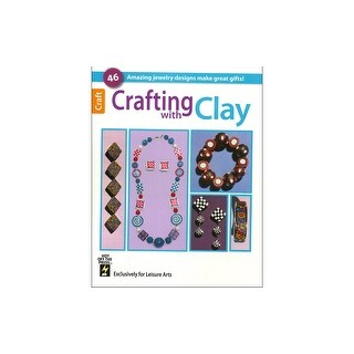 Leisure Arts Crafting With Clay Bk