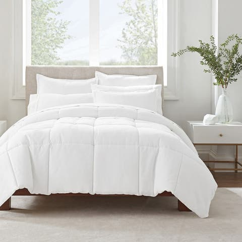 Serta Simply Clean Antimicrobial Comforter Set