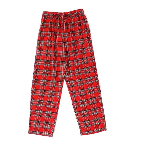 f397d3b050 Shop Family PJs NEW Red Men s Size Medium M Plaid-Flannel Lounge Pants -  Free Shipping On Orders Over  45 - Overstock.com - 21394770