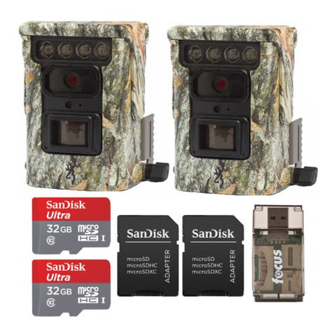 Browning Trail Cameras Defender 850 and 32GB SD Card (2-Pack) Bundle