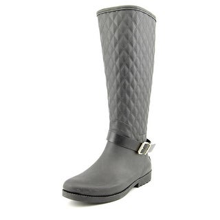 Guess Lulue Round Toe Synthetic Rain Boot