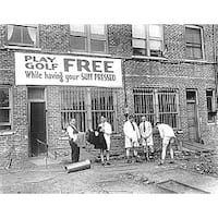 ''Free Golf'' by Anon Photography Art Print (22 x 28 in.)
