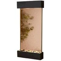 Adagio WCS1541 Whispering Creek - Bronze Mirror Wall Fountain