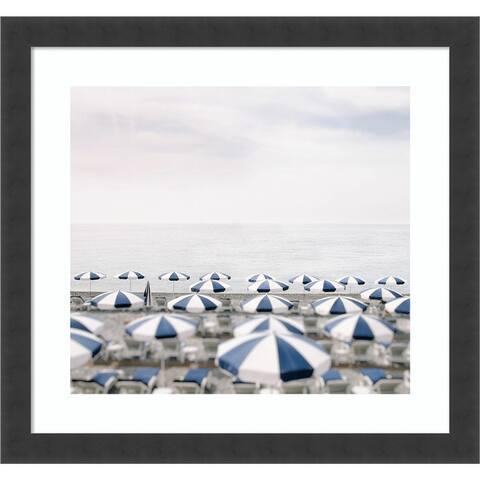 Seaside 7 (Beach) by Carina Okula Framed Wall Art Print