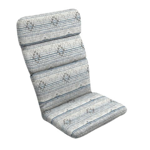 Arden Selections Carmen Southwest Outdoor Adirondack Chair Cushion - 45.5 in L x 20 in W x 2.25 in H