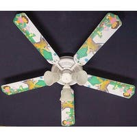 Dora the Explorer and Boots Print Blades 52in Ceiling Fan Light Kit - Multi
