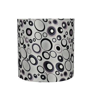 "Link to Aspen Creative Drum (Cylinder) Shape Spider Construction Lamp Shade in Off White (8"" x 8"" x 8"") Similar Items in Lamp Shades"