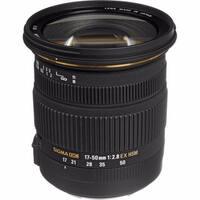 Sigma 17-50mm f/2.8 Zoom Lens for Canon Lens Bundle