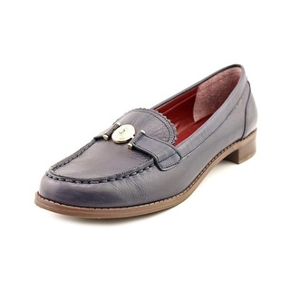 Tommy Hilfiger Malenita Round Toe Leather Loafer