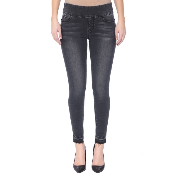 Lola Jeans Julia-ASH, pull on ankle