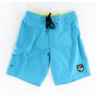 Maui and Sons NEW Blue Mens Size 28 Lasso Waist Board Surf Shorts