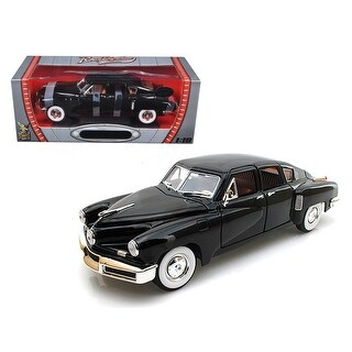 1948 Tucker Torpedo Black Limited Edition to 600pc 1/18 Diecast Model by Road Signature
