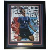 Abby Wambach Signed Framed 16x20 Sports Illustrated Cover Photo JSA