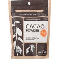Navitas Naturals Cacao Powder - Organic - Raw - 8 oz - case of 12
