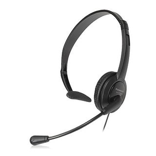 Panasonic KX-TCA400 Over The Head Headset w/ Noise-Canceling Microphone