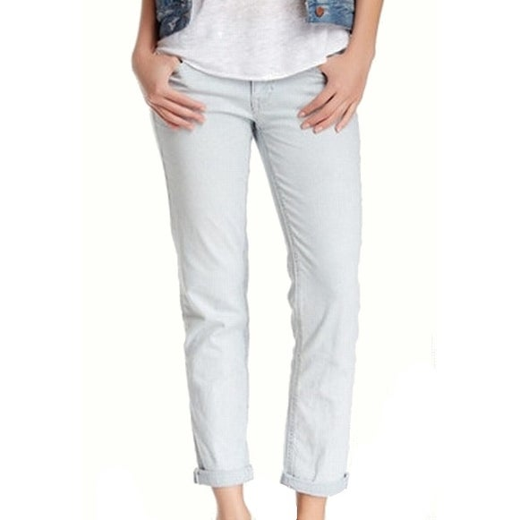 da72a4f7415 Shop Jolt NEW Blue Size 5 Junior Pinstripe Girlfriend Fit Skinny Jeans -  Free Shipping On Orders Over  45 - Overstock.com - 17900692
