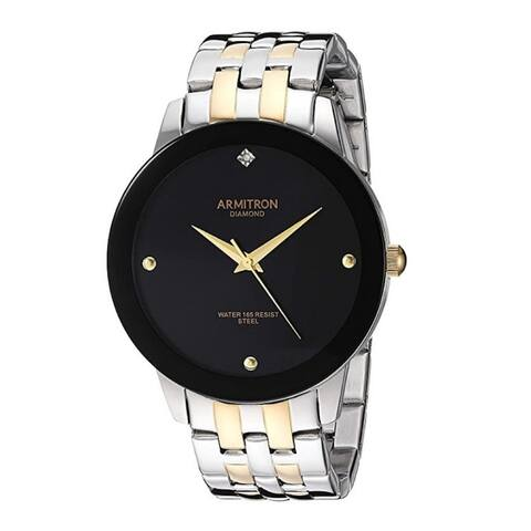 Armitron Men's 42mm Diamond Dial Bracelet Watch
