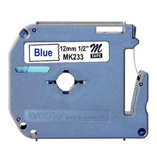 P-Touch Non-Laminated Tape Cartridge 0.5 Inch x 26.2 Non-Laminated