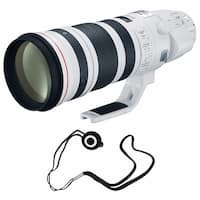 Canon EF 200-400mm f/4L IS USM Lens (International Model) + Lens Cap Keeper Bundle (AF6CAN200400LUSMB5)