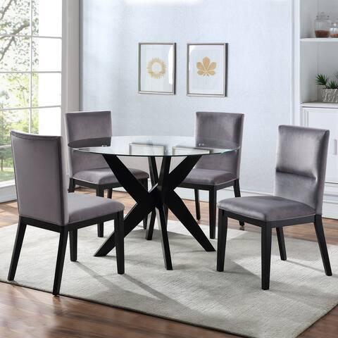 Strick & Bolton Aster Modern 5-piece Dining Set