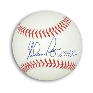 "Autographed Nolan Ryan MLB Baseball Inscribed ""5714 K's"""