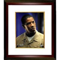 Denzel Washington signed Crimson Tide 11x14 Photo Custom Framed Vertical Beckett Holo C88426