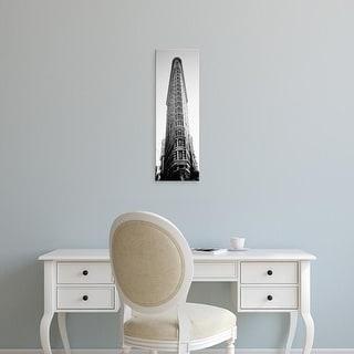 Easy Art Prints Panoramic Image 'An office building, Flatiron Building, Manhattan, New York City, New York' Canvas Art
