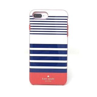 Kate Spade New York Protective Case for iPhone 8 Plus/7 Plus/6 Plus - Laventura Red / Navy / Blush