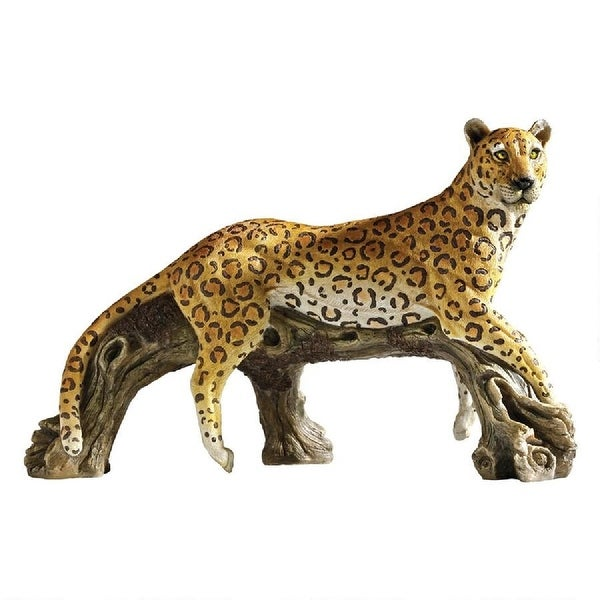"20.5"" Leopard African Safari Garden Statue - N/A"