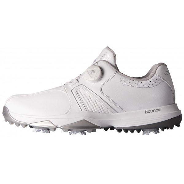 buy popular c6ffc ebc43 Shop Adidas Men s 360 Traxion BOA White Golf Shoes Q44949 Q44953 - Free  Shipping Today - Overstock - 20603537