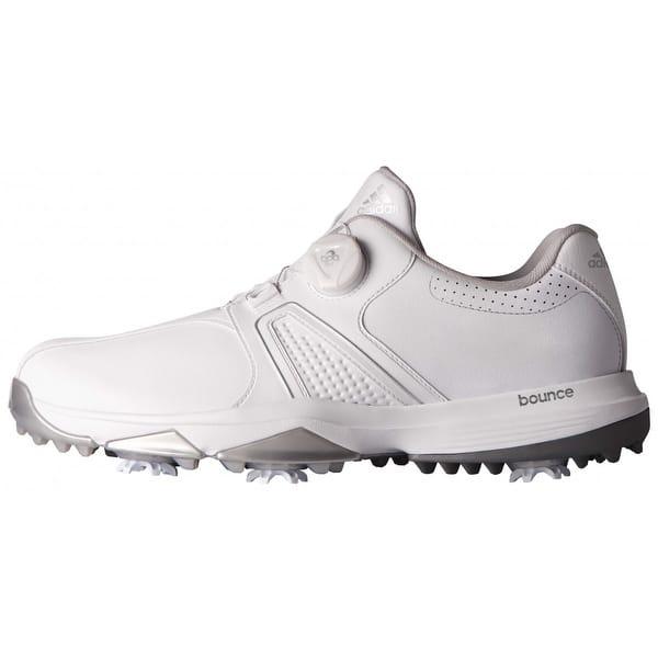 Shop Adidas Men S 360 Traxion Boa White Golf Shoes Q44949 Q44953 Overstock 20603537