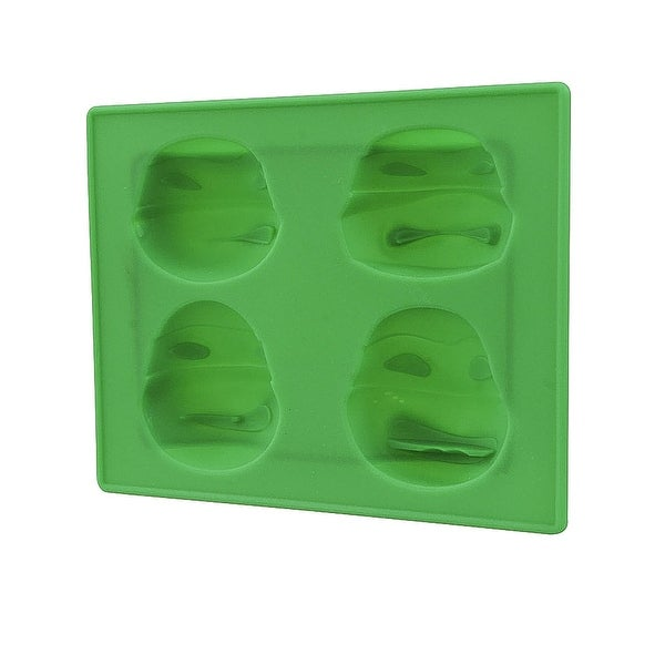 Ninja Turtles Theme Party Ice Tray Cube Chocolate Jello Silicone Molds Kid  Fun